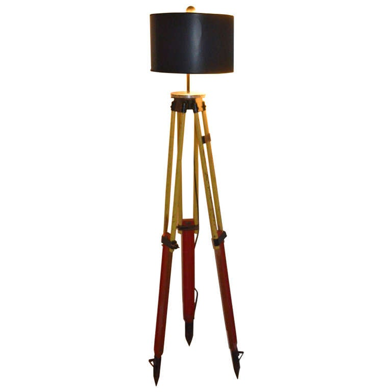1211514 ljpeg for Surveyors floor lamp wood