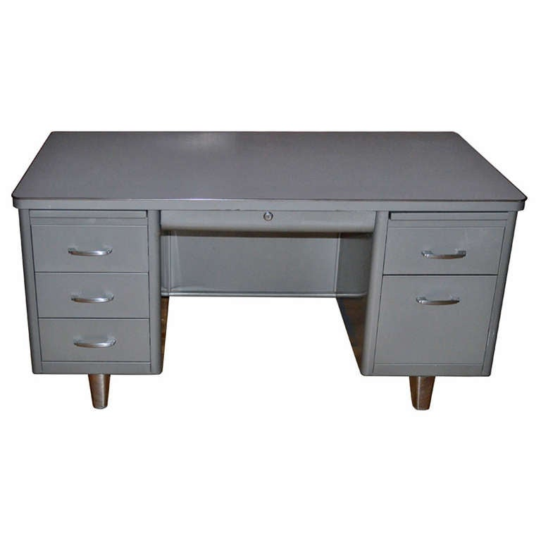 Mid Century Invincible Modernaire Desk At 1stdibs