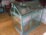 Hand Crafted Greenhouse On Wheels At 1stdibs