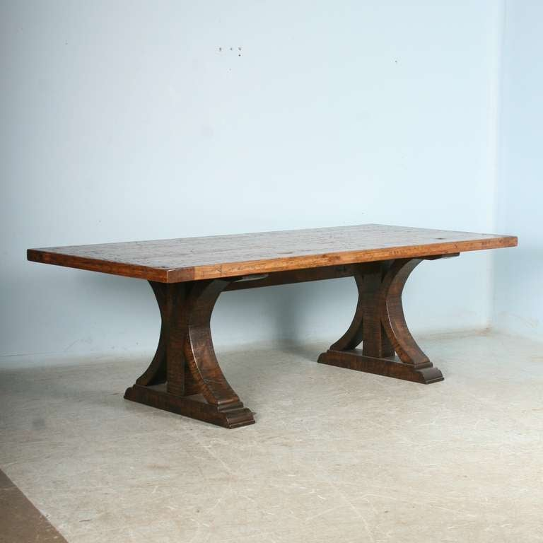 this large vintage dining table from reclaimed wood 1930 40 39 s is no