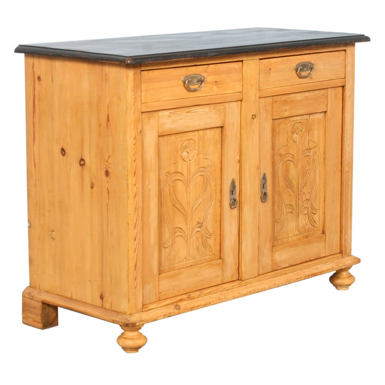 antique danish pine sideboard circa 1880 at 1stdibs. Black Bedroom Furniture Sets. Home Design Ideas