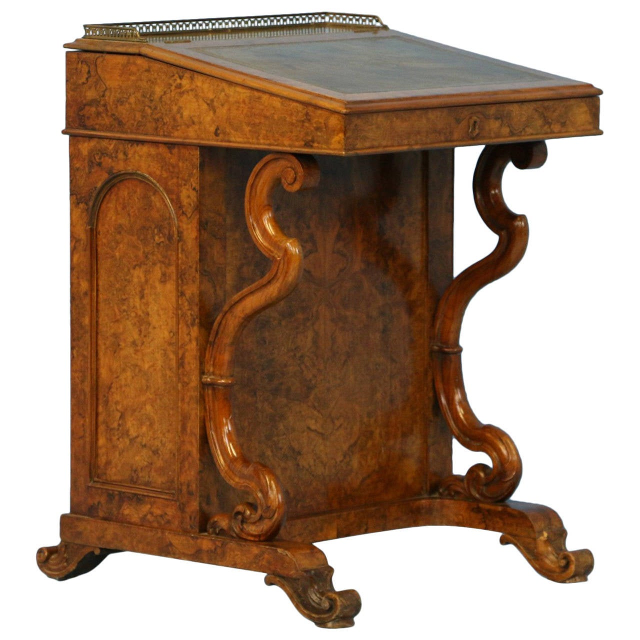 Antique English Davenport Desk, circa 1800 1 - Antique English Davenport Desk, Circa 1800 At 1stdibs