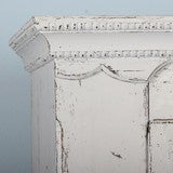 Antique White Painted Armoire, Sweden circa 1880 image 5