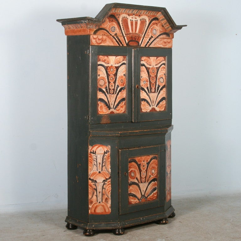 repaint kitchen cabinet antique painted swedish cabinet cupboard circa 1800 40 1858