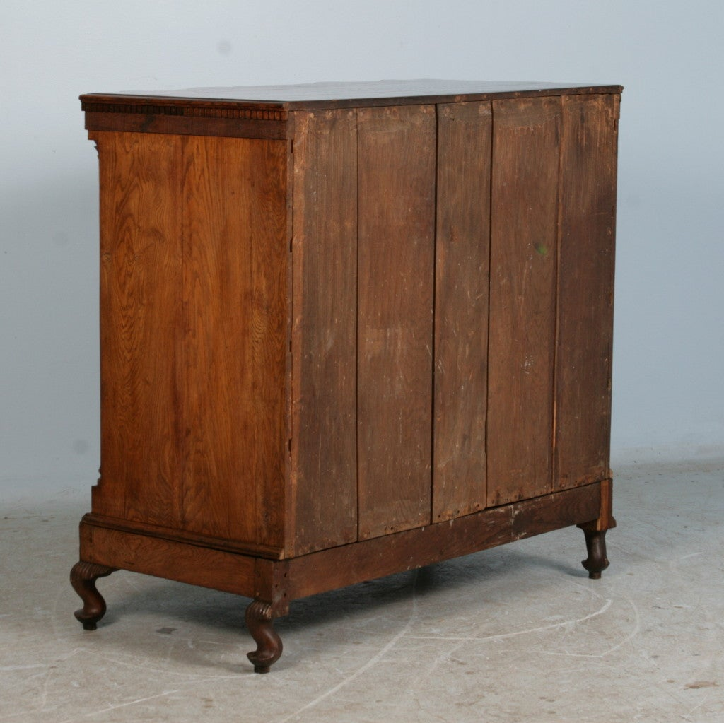 danish baroque 18th century oak commode at 1stdibs. Black Bedroom Furniture Sets. Home Design Ideas