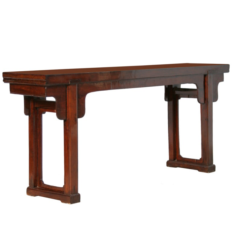 Antique chinese console table shanxi circa at stdibs