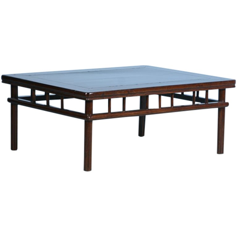 Antique Contemporary Look Lacquered Chinese Coffee Table C1840 At 1stdibs