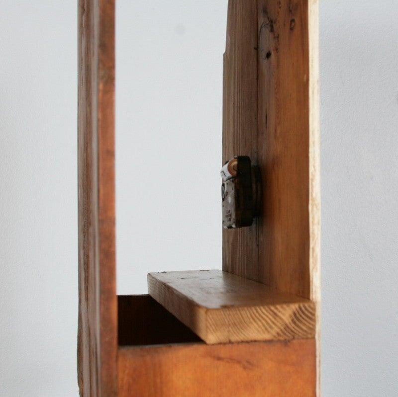 Antique Danish Black Painted Grandfather Clock 3