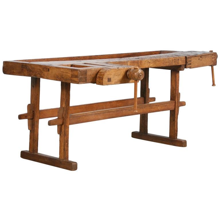 Antique Carpenter S Workbench Sweden Circa 1890 At 1stdibs