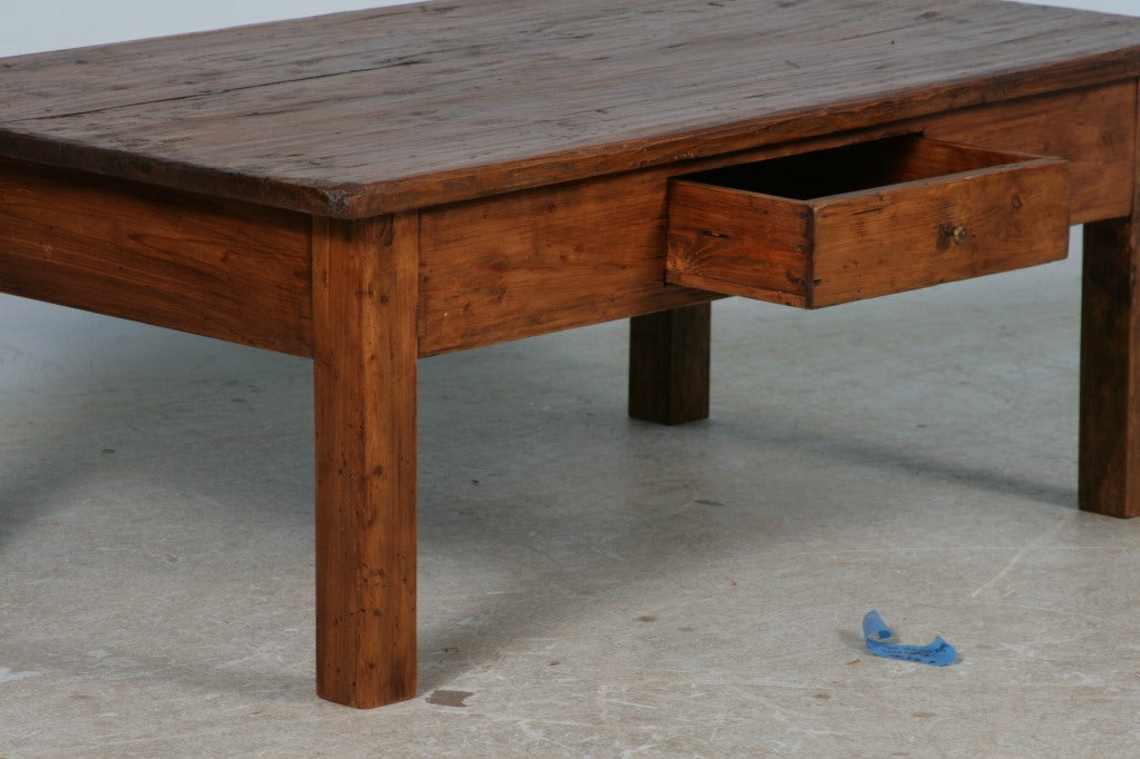 Antique Rustic Danish Pine Coffee Table Circa 1840 60 At 1stdibs