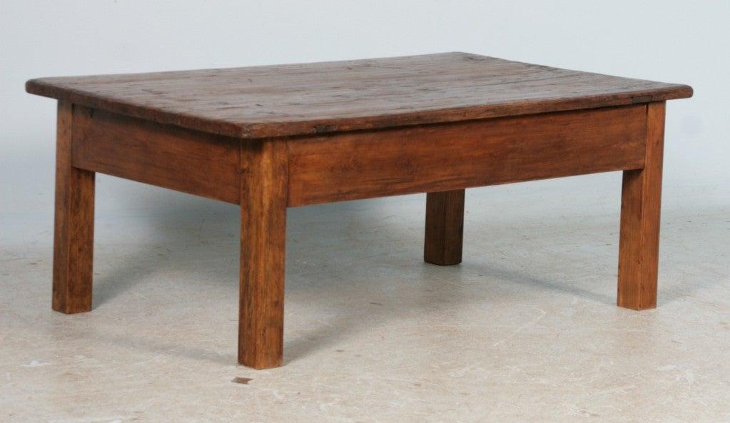Antique Rustic Danish Pine Coffee Table Circa 1840 60 At 1stdibs