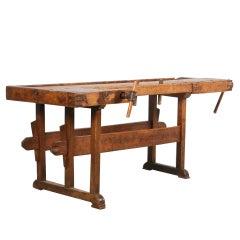 Antique Carpenter's Workbench, circa 1880