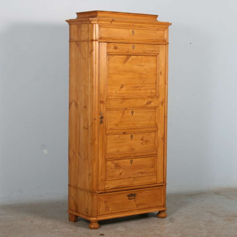 Beautiful Clean Lines And Warm Waxed Pine Are The Hallmarks Of This Lovely  Armoire. Known