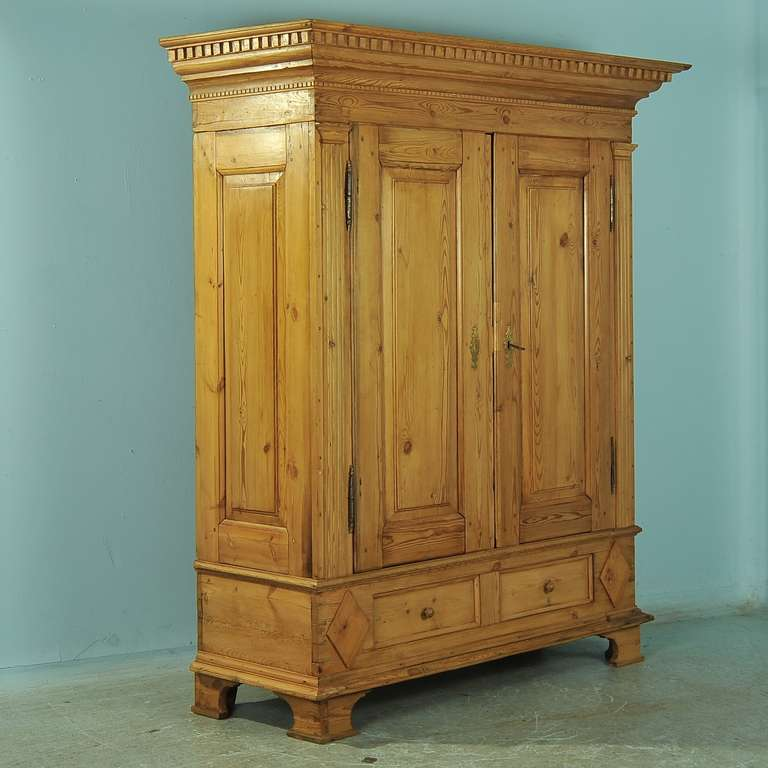 antique large pine armoire louis xvi circa 1790 1820 at. Black Bedroom Furniture Sets. Home Design Ideas