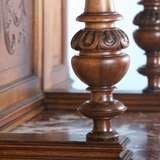 French Carved Antique Marble Top Server Buffet image 6