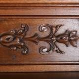 French Carved Antique Marble Top Server Buffet image 8