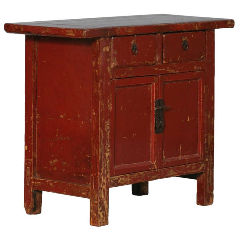 small antique sideboard 1