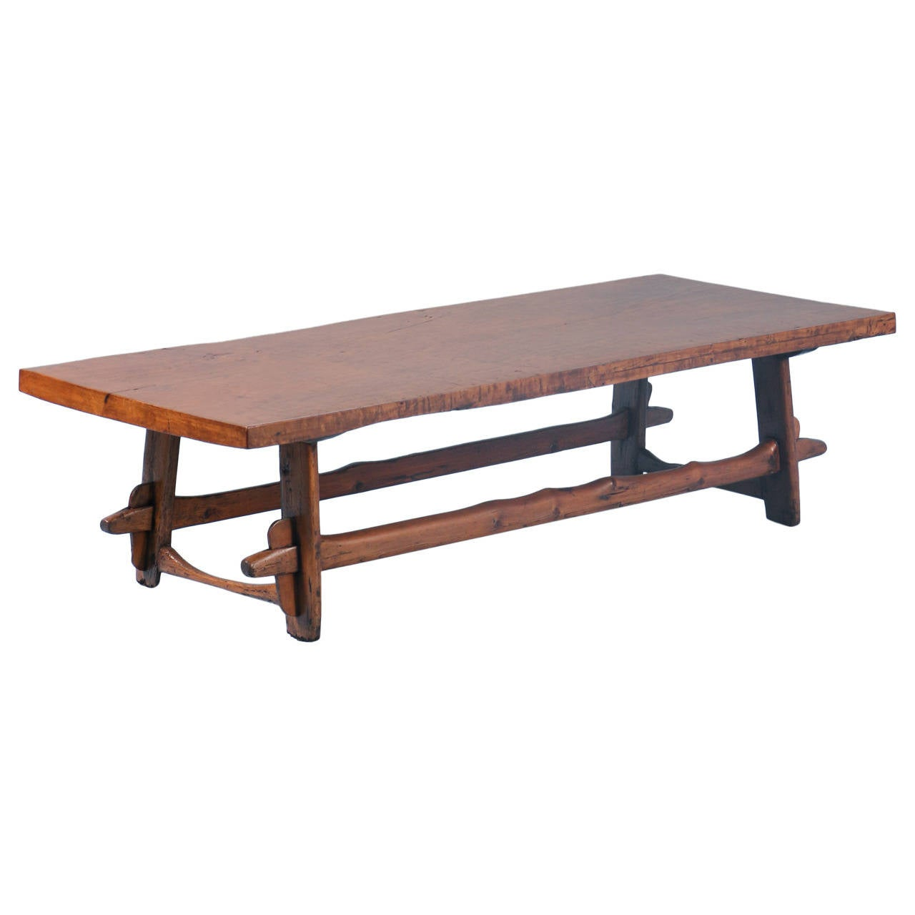 Antique long coffee table stunning wood circa 1820 1840 for Long coffee table
