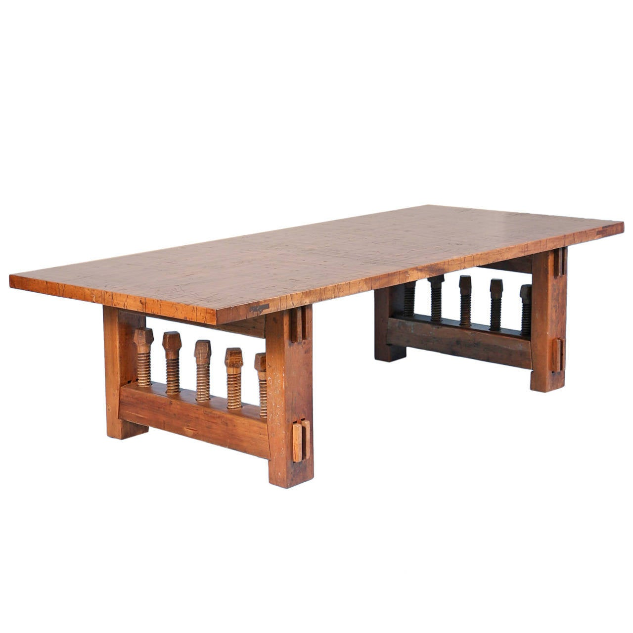 Architectural And Industrial 9 39 Dining Or Conference Table