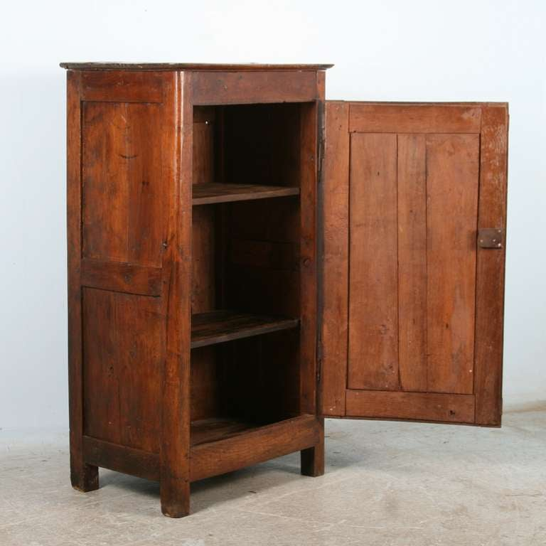 Antique French Cabinet/Armoire, Unique Small Size at 1stdibs