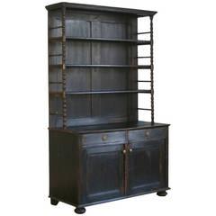 Antique Black Cupboard