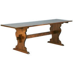 Antique Swedish Farmhouse Pine Table, circa 1840-1880