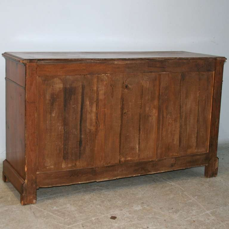 antique long french fruitwood sideboard buffet circa 1860 80 at 1stdibs. Black Bedroom Furniture Sets. Home Design Ideas