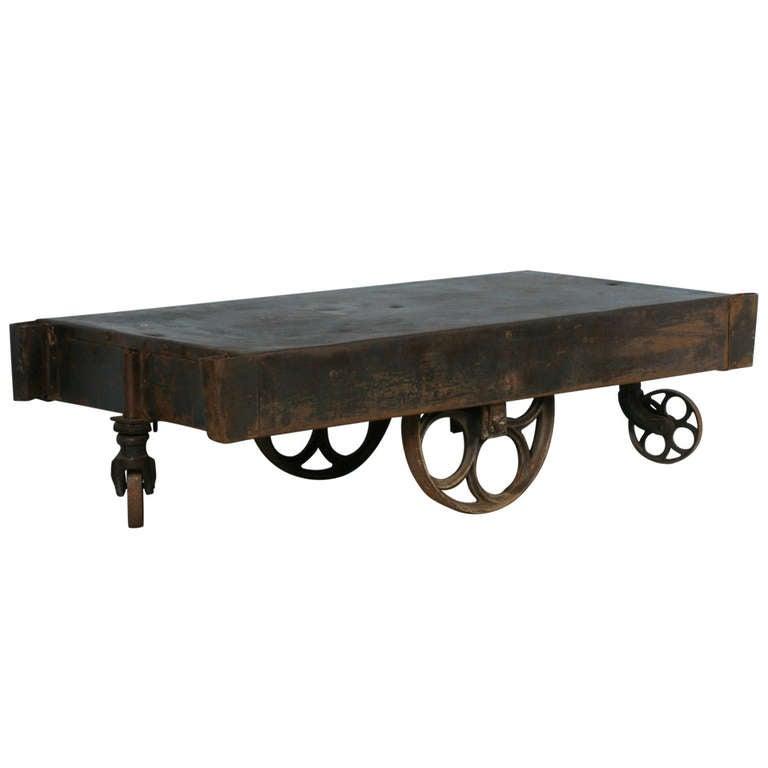 Old Industrial Cart Coffee Table: 949226_l.jpg
