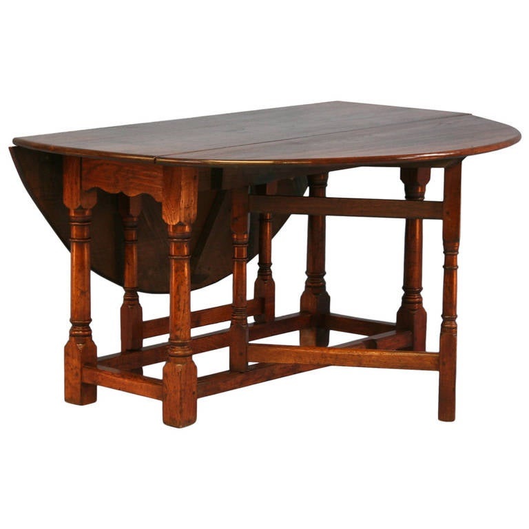 Antique English Gate LegDrop Leaf Table circa 1880 at  : 1332106l from www.1stdibs.com size 768 x 768 jpeg 42kB