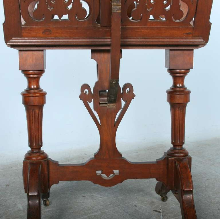 antique victorian mahogany music stand circa 1850 70 for sale at 1stdibs. Black Bedroom Furniture Sets. Home Design Ideas