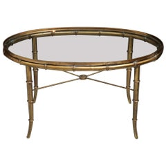 Mastercraft Faux Bamboo Coffee Table