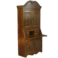 Antique pine secretaire with hidden compartment denmark circa 1840 at 1stdibs - Bureau secretaire antique ...
