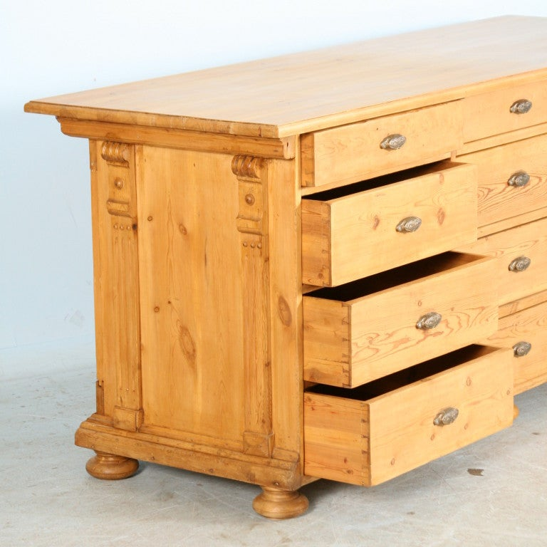 Large pine counter sideboard perfect kitchen island at for The perfect kitchen island