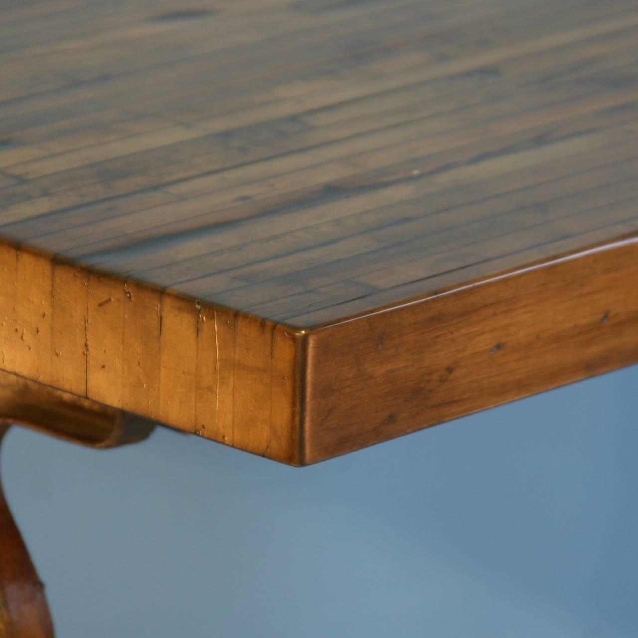 2IMG_9093_l Oval Plank Farmhouse Table on plank coffee table, diy table, farm table, plank beach table, plank dining table, plank table top, plank extending table, plank desk, wood table,