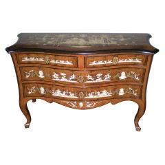 Italian Commode with Ivory Inlay