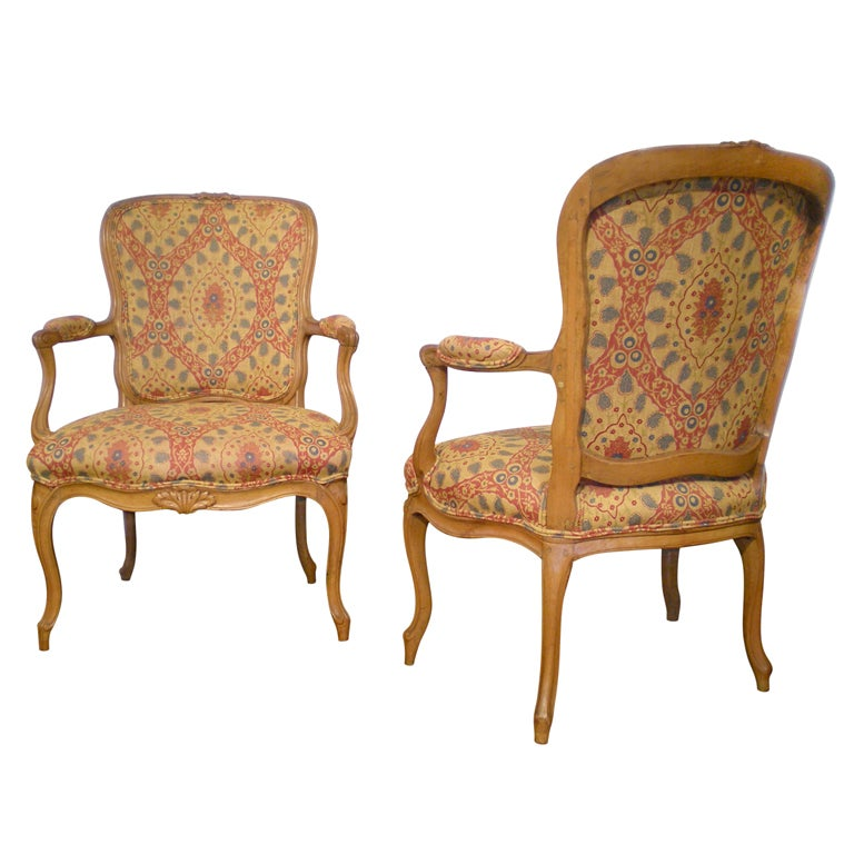 French Beechwood Chairs