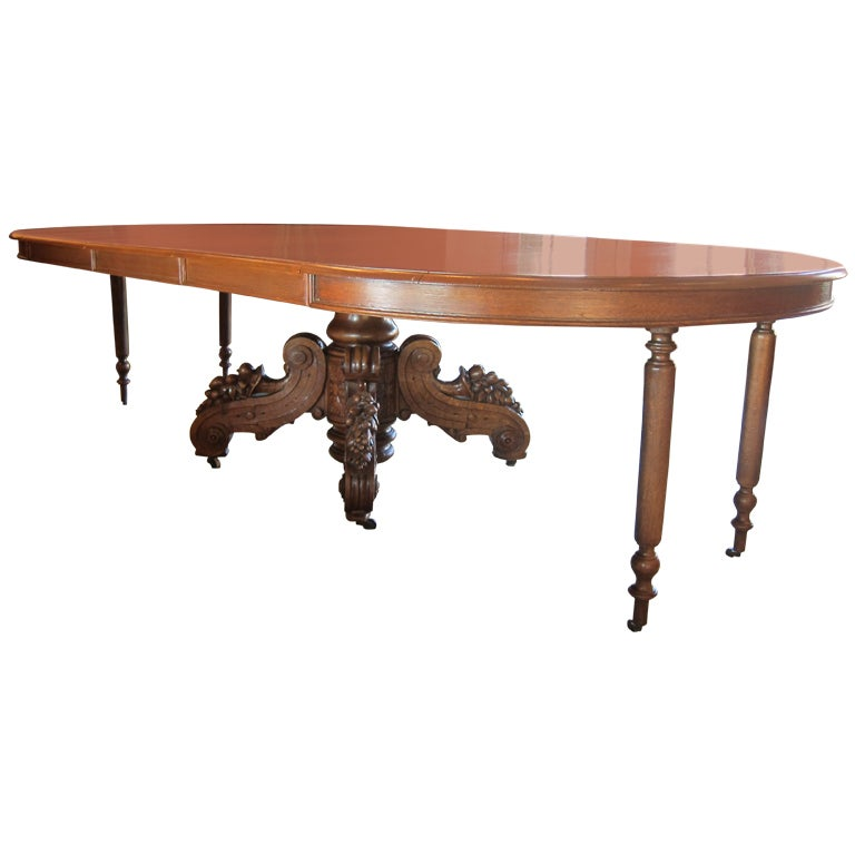 Antique Extension Dining Table At 1stdibs