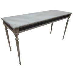 Gustavian Console Table
