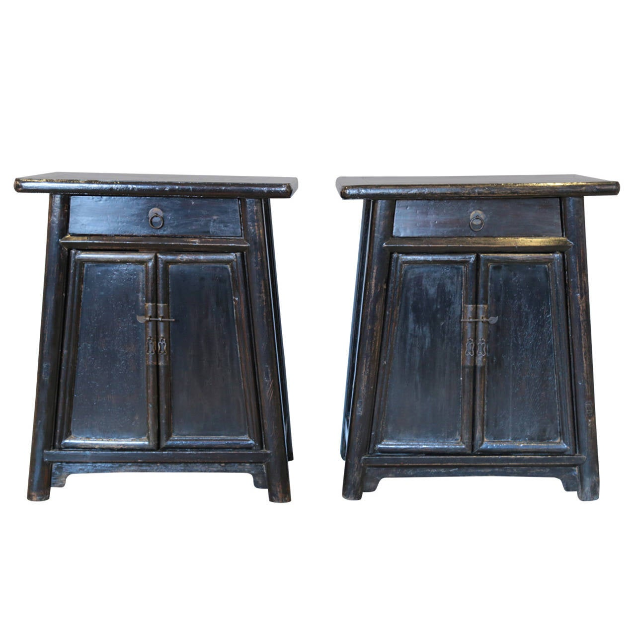 19th century chinese tapered cabinets at 1stdibs for 19th century kitchen cabinets