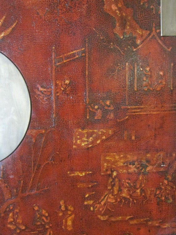 Qing 18th Century Chinese Cabinet For Sale