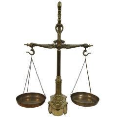Maco Braga 19th Century Balance Scale