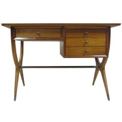Mid-Century Desk in the Style of Gio Ponti