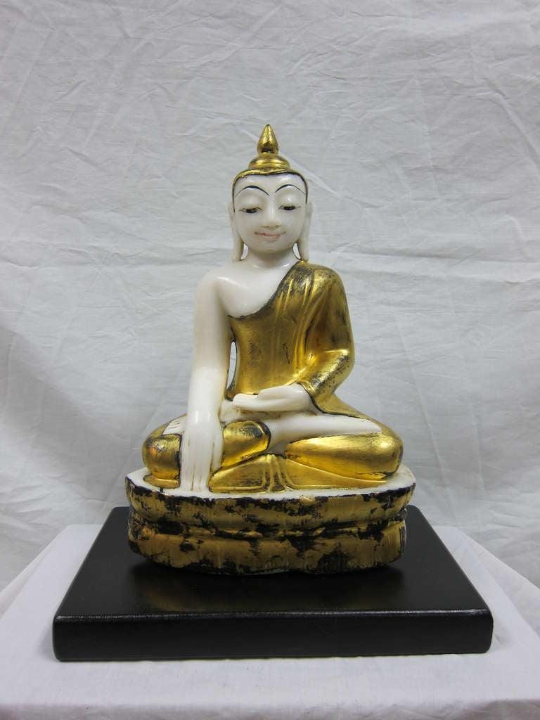 Burmese Alabaster Buddha For Sale 1