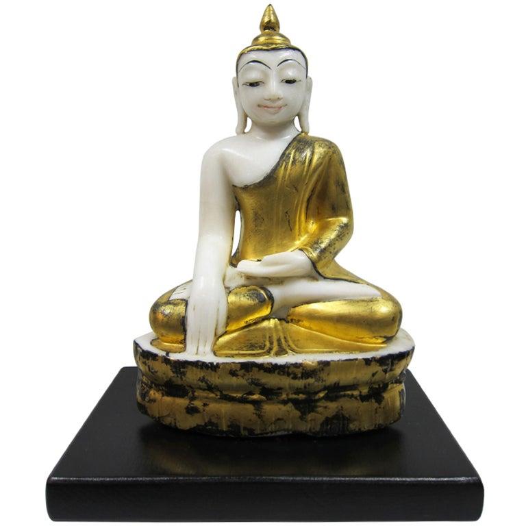 Burmese Alabaster Buddha For Sale