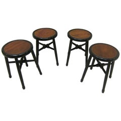 Art Deco Stools Side Tables