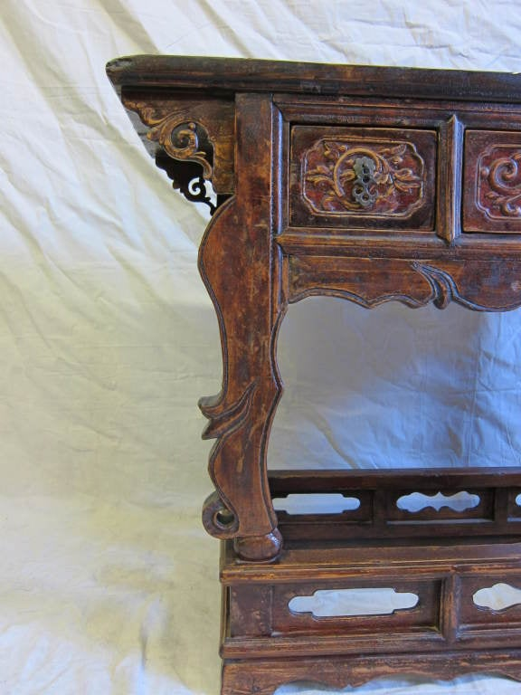 Elm 19th Century Chinese Altar Table For Sale
