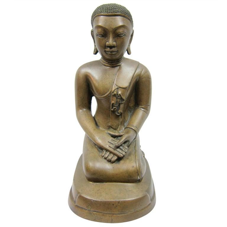 Bronze Burmese Monk Casting