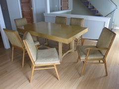 Robsjohn Gibbings Table And Chair Set