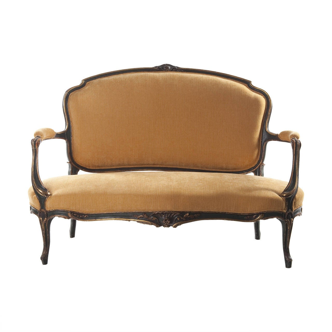 19th Century French Settee, Louis Philippe Style