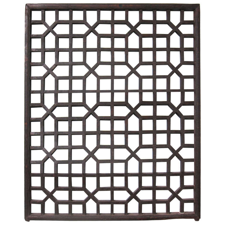 19th century chinese window screen for sale at 1stdibs for Window screens for sale